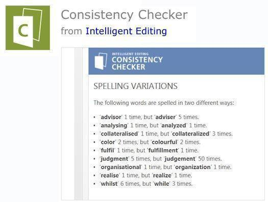 Consistency Checker