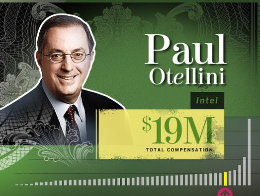 Paul Otellini, outgoing Intel CEO and president