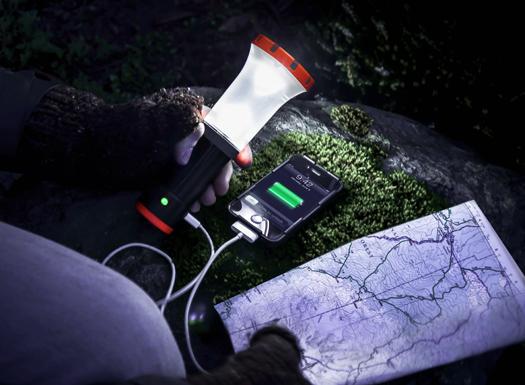 UCO Arka USB Charger + Lantern + Flashlight
