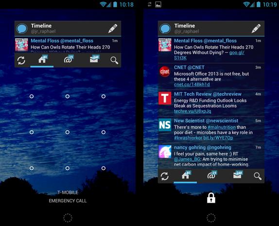 Echofon for Twitter screenshots