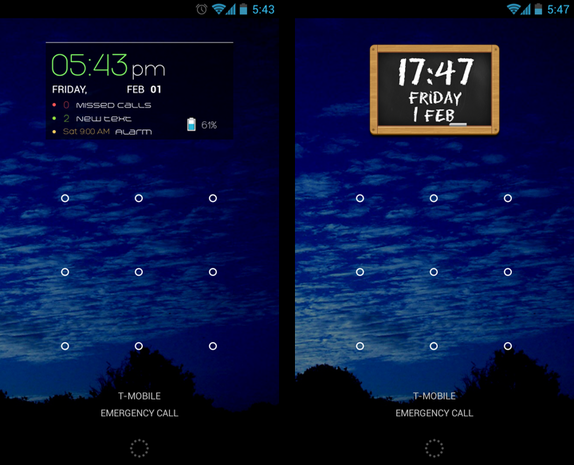 Ultimate Custom Widget (UCCW) screenshots