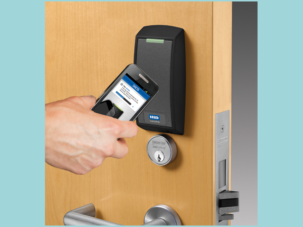 NFC-controlled lock