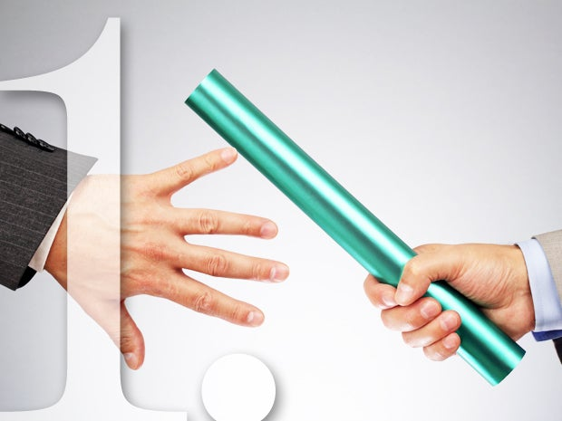 Pass the Baton of Ownership of Processes Early