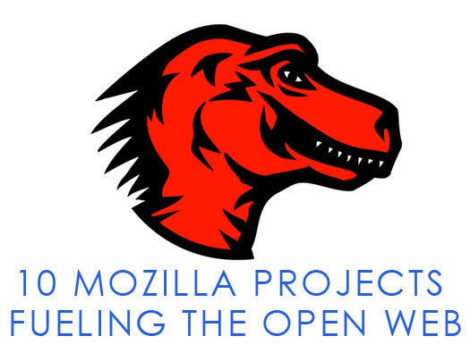 Ten Mozilla projects fueling the open Web