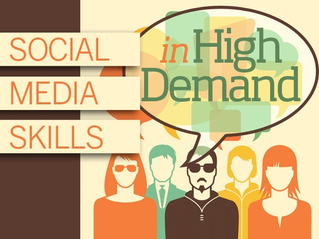 Social Media Skills in High Demand