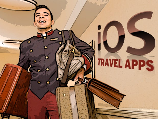 travel apps, mobile apps, iOS