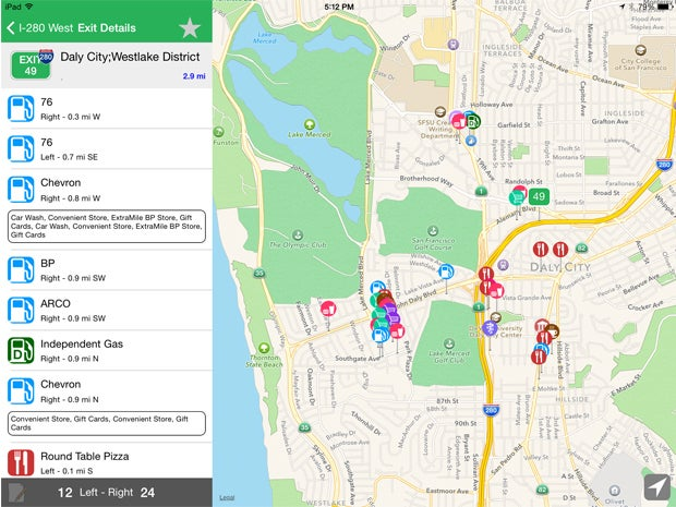 iExit for Road Trips