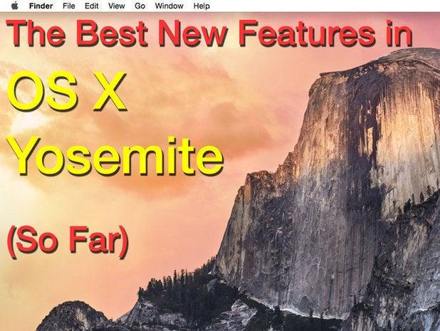 OS X Yosemite public beta