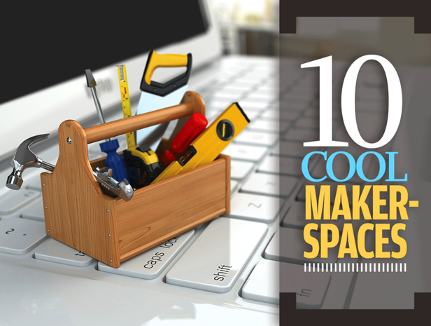 10 cool makerspaces