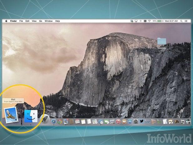 OS X Yosemite: Handoff