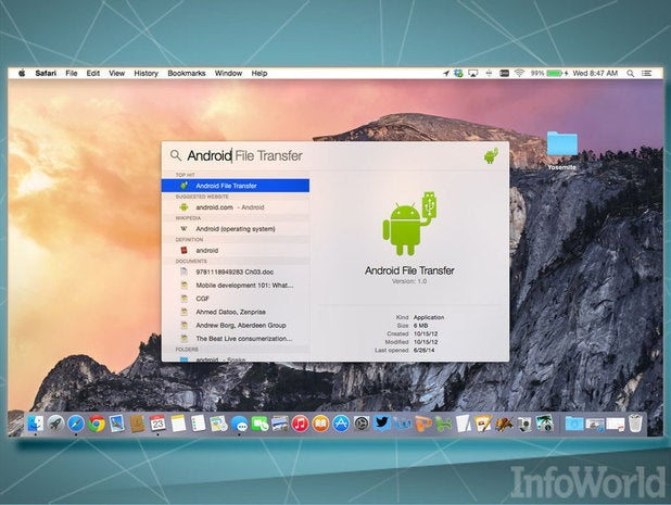 OS X Yosemite: Spotlight