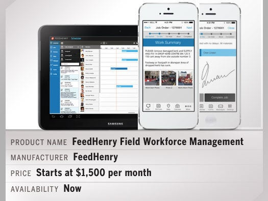 FeedHenry Field Workforce Management