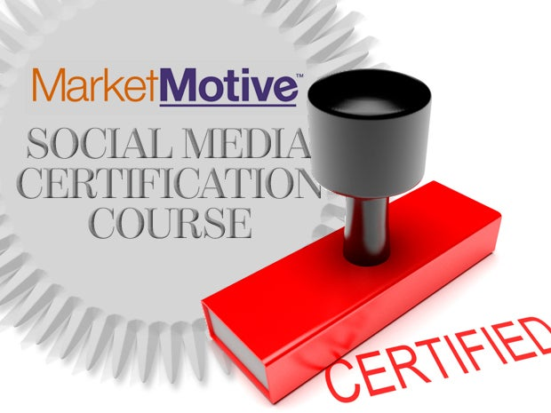 Market Motive Social Media Certification Course