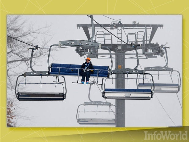 Check out ski conditions at the lift