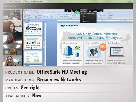 OfficeSuite HD Meeting