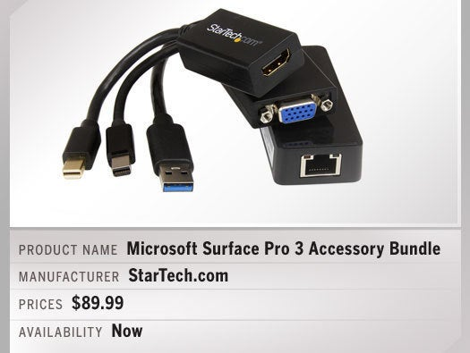 Microsoft Surface Pro 3 Accessory Bundle