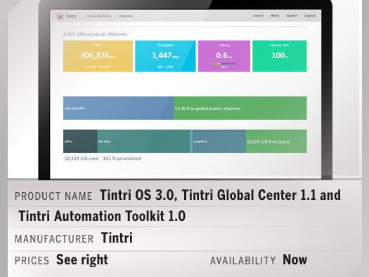 Tintri OS 3.0, Tintri Global Center 1.1 and Tintri Automation Toolkit 1.0