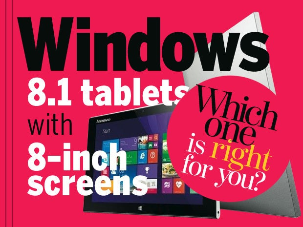 windows 8.1 tablets