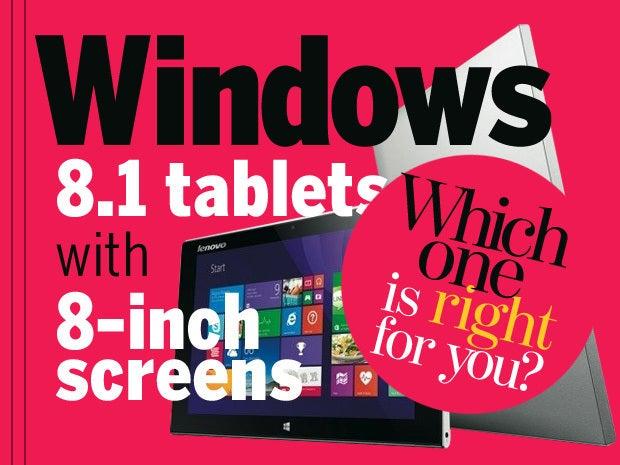 windows 8.1 tablets