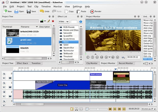Seven Free Open Source Video Editors For Linux