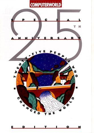 Computerworld 25th anniversary cover - June 1992
