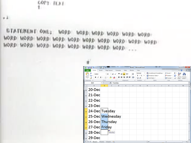 NLS copy and paste plus Autofill in Excel