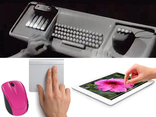 NLS keyset, keyboard, mouse plus Microsoft mouse, Apple Magic trackpad and iPad 3