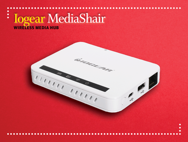 Iogear MediaShair Hub