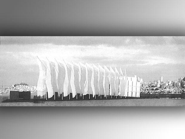 Artistic rendering of studio in San Francisco Bay