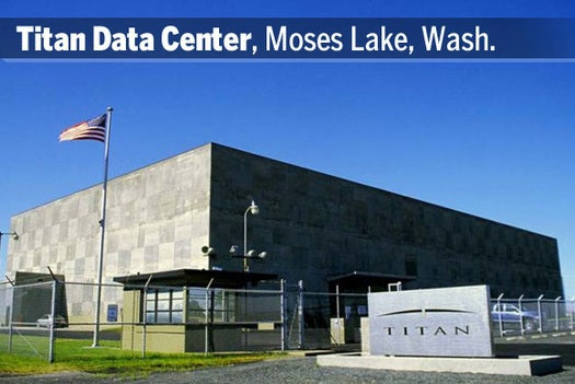 Titan Data Center, Moses Lake, Wash.