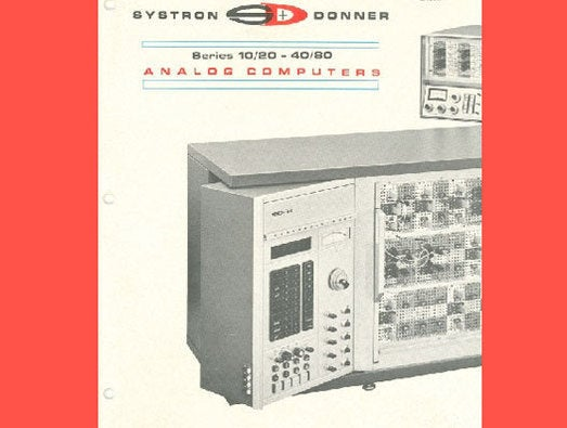 Systron-Donner computers