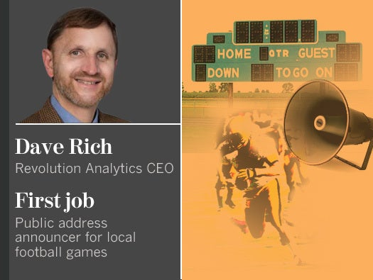 Dave Rich, Revolution Analytics CEO