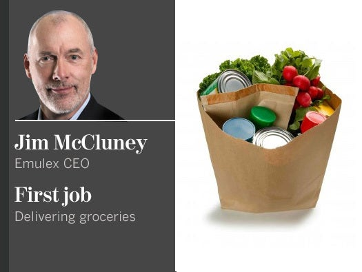 Jim McCluney, Emulex CEO