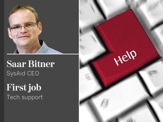 Saar Bitner, SysAid CEO