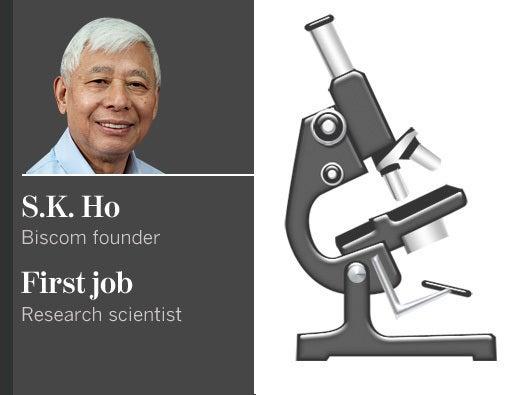 S.K. Ho, Biscom founder
