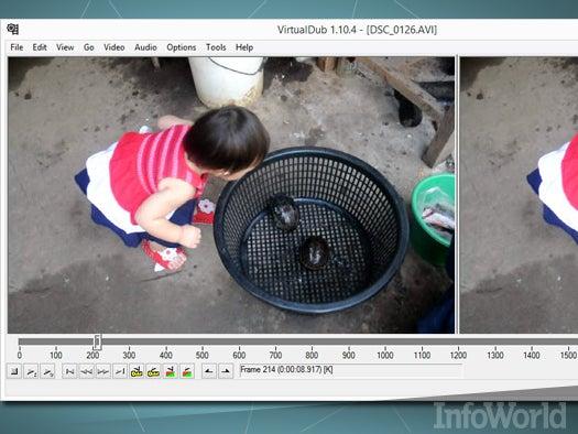 Top free desktop media tool: VirtualDub