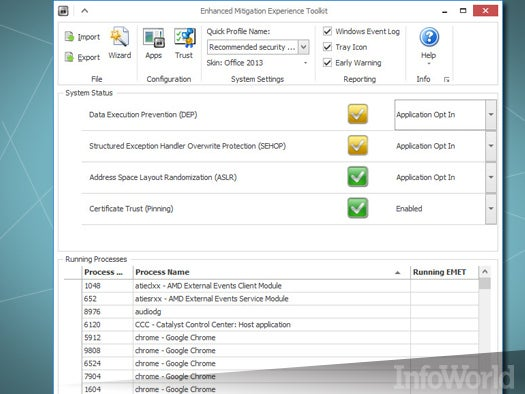 Top free desktop security tool: EMET