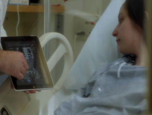 The iPad Improves Surgery Preparation, Recovery
