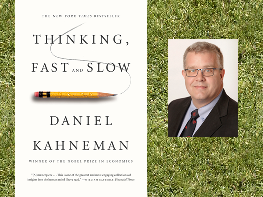 Thinking, Fast and Slow book cover