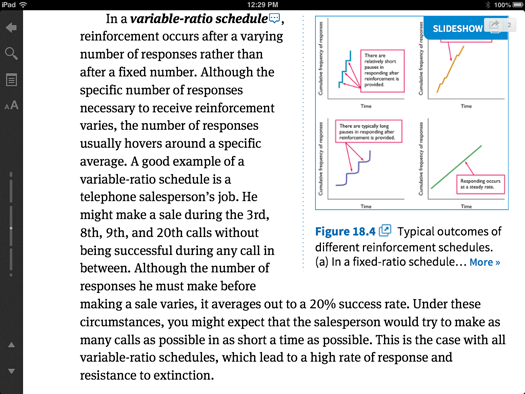 Inkling interactive textbook