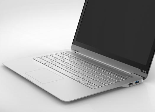 Vizio Thin + Light ultrabook keyboard
