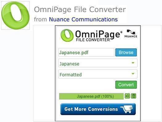 OmniPage File Converter