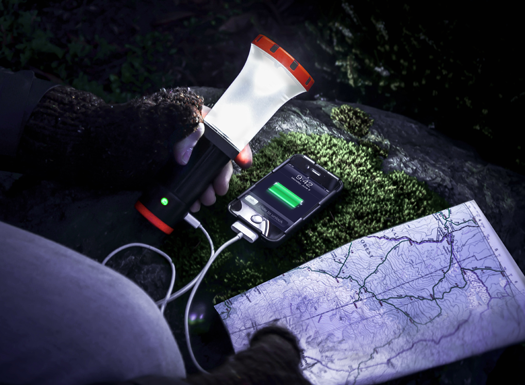 UCO Arka USB Charger + Lantern + Flashlight