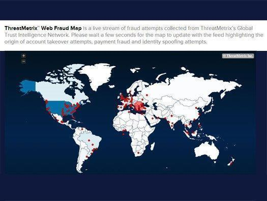 ThreatMatrix: Web Fraud Map