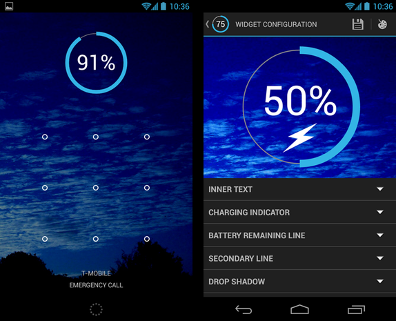 Battery Widget Reborn Pro screenshots