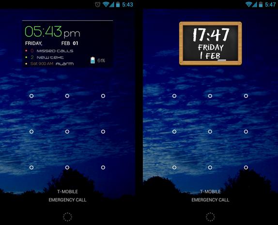 Ultimate Custom Widget (UCCW) screenshots