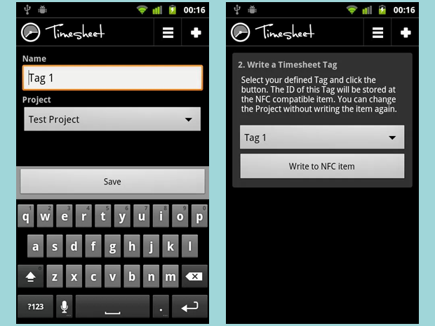 Timesheet apps
