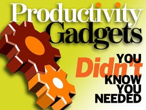 8 productivity gadgets you didn't know you needed