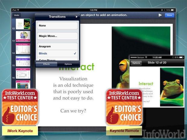 Apple iWork Keynote presentation