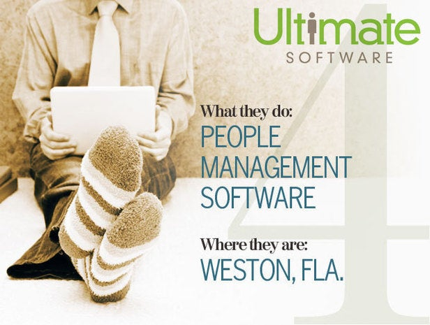 Ultimate Software, telecommuting